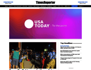 timesreporter.com screenshot