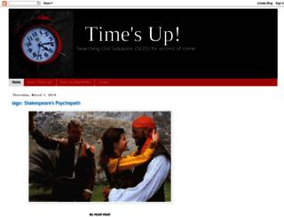 timesupblog.blogspot.com screenshot