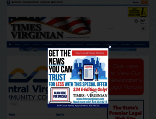 timesvirginian.com screenshot
