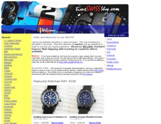 timeswissshop.com screenshot