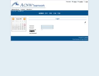 timeswork.acnw.com.au screenshot