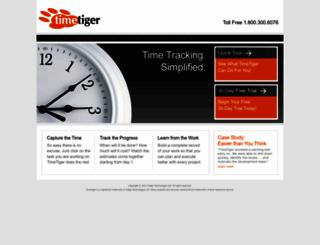 timetiger.com screenshot