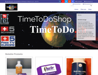 timetodoshop.ch screenshot