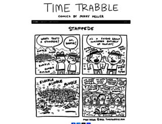 timetrabble.com screenshot