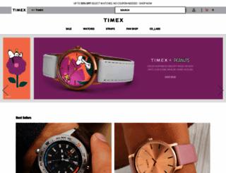 timex.com screenshot