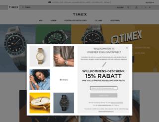 timex.de screenshot