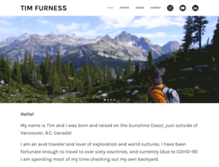 timfurness.com screenshot