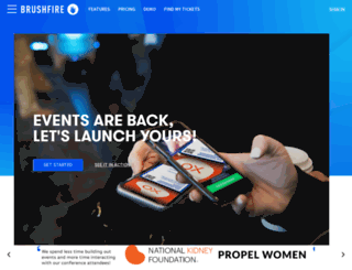timhawkins.brushfireapp.com screenshot