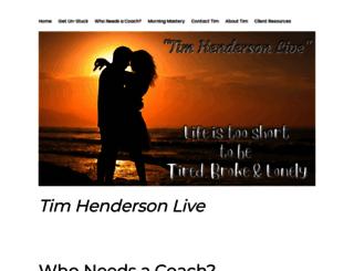 timhendersonlive.com screenshot