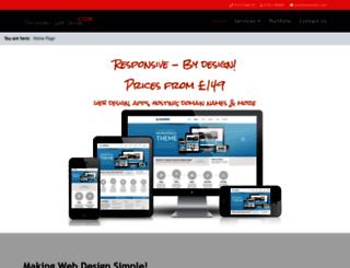timhowell.com screenshot