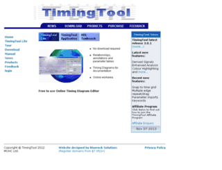 timingtool.com screenshot