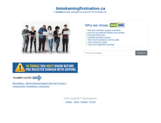 timiskamingfirstnation.ca screenshot
