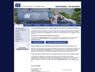 timmerbedrijfboxma.nl screenshot