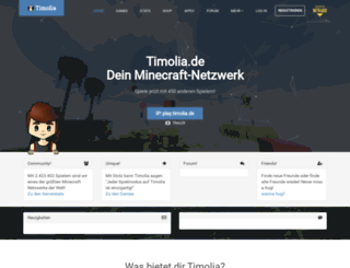 timolia.de screenshot