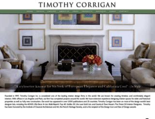 timothy-corrigan.com screenshot