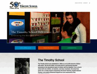 timothyschool.azurewebsites.net screenshot