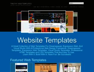 timothywebdesign.net screenshot