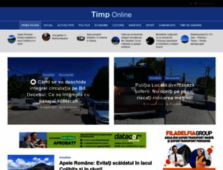 timponline.ro screenshot