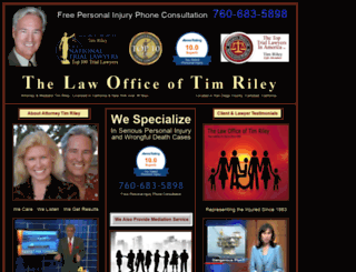 timrileylaw.com screenshot