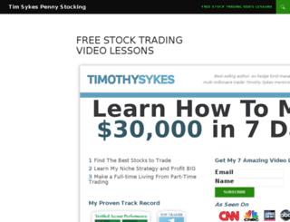 timsykes.org screenshot