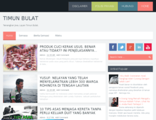 timunbulat.com screenshot