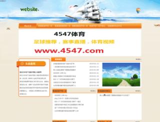 tinalangley.com screenshot