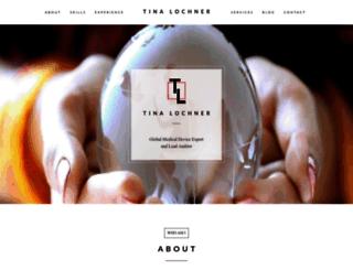 tinalochner.com screenshot
