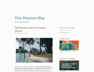 tinapaterson.blogspot.com screenshot