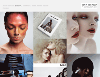 tinapicard.com screenshot