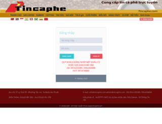 tincaphe.com screenshot