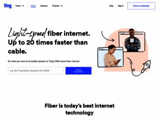 ting.com screenshot