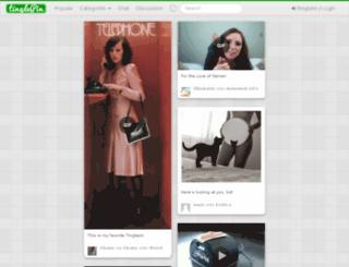 tinglepin.com screenshot