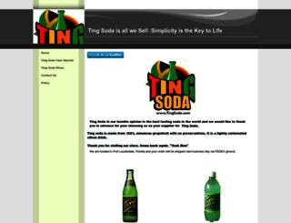 tingsoda.com screenshot