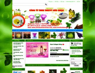 tinhdauthiennhien.info screenshot
