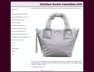 tinnitus-home-remedies.info screenshot