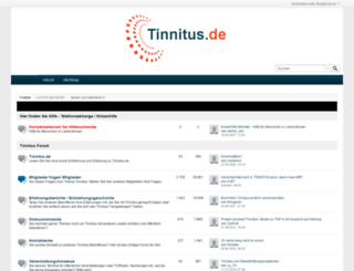 tinnitus.de screenshot