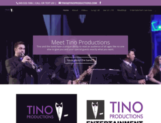 tinoproductions.com screenshot