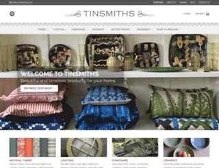 tinsmiths.co.uk screenshot