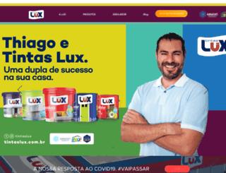 tintaslux.com.br screenshot