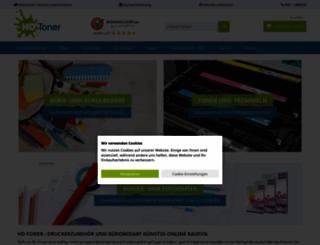 tintenpatrone-shop.de screenshot