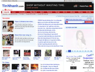 tintuc.timnhanh.com screenshot