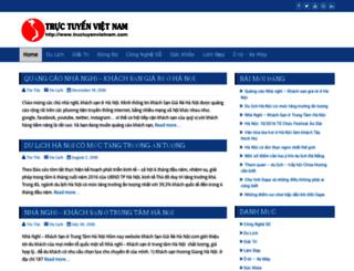 tintuc.tructuyenvietnam.com screenshot