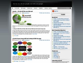 tintucseogoogle.wordpress.com screenshot