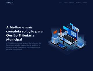 tinus.com.br screenshot