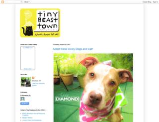 tinybeasttown.blogspot.com screenshot