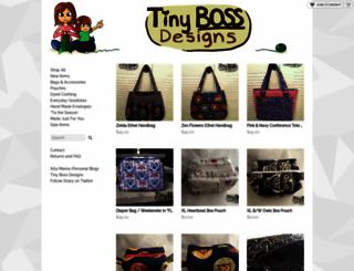 tinyboss.storenvy.com screenshot