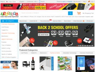 tinydeal.com.br screenshot