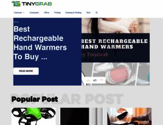 tinygrab.com screenshot