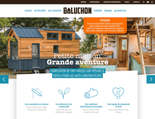 tinyhouse-baluchon.fr screenshot