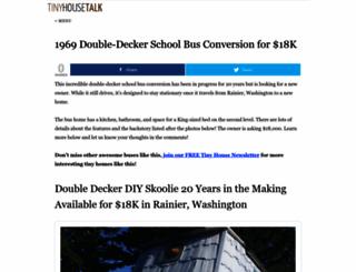 tinyhousetalk.com screenshot